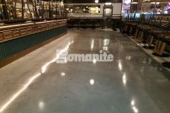 Our colleague, Beyond Concrete, was brought in to make sure the interior flooring at Angeline by Michael Symon was up to design standards and within budget and Bomanite Modena SL was the product of choice to help them achieve these goals while providing a decorative concrete floor that enhances the sleek and modern design aesthetic.