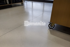 Our colleague Musselman & Hall was awarded the 2019 Bomanite Custom Polishing Systems Bronze Award for their expert installation of this Bomanite Modena SL custom polished overlay, and the warm gray flooring and satin finish are the perfect addition to enhance the refined design aesthetic throughout the Nickel & Suede flagship store.