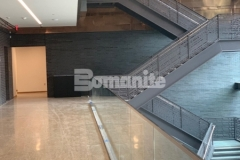 The Dallas Holocaust and Human Rights Museum features beautiful Bomanite VitraFlor Custom Polished Concrete that was expertly installed by our colleague Texas Bomanite, resulting in this stunning, industrial modern polished concrete flooring surface and earning them the 2019 Best Bomanite Custom Polishing Project Honorable Mention Award.