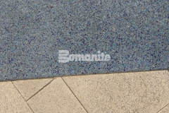 Bomanite Revealed was the product of choice at the St. Louis Aquarium to add beautiful detail through coloration and aggregate selection, perfectly portraying the confluence of the Mississippi and Missouri Rivers while adding durability and distinct design detail.
