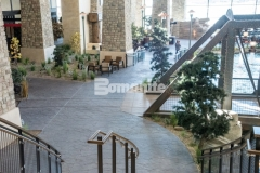 Our associate, Colorado Hardscapes, won the 2018 Silver Award in the Bomanite Imprint Systems category for their skillful installation of Bomacron Small Random Slate and Bomanite Belgium Block imprinted concrete at the Gaylord Rockies Resort & Convention Center, creating a decorative concrete surface that complements the natural décor and aesthetic.