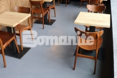 Our colleague, Musselman & Hall Contractors, won the 2018 Best Bomanite Toppings Systems Project Bronze Award for their thorough and expert installation of Bomanite Micro-Top to renovate the commercial interior flooring inside the Elmwood Restaurant, adding consistency and beautiful character to the space.